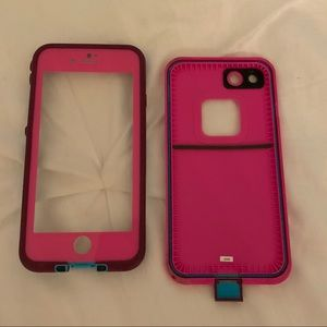 Pink iPhone 7 Lifeproof Case